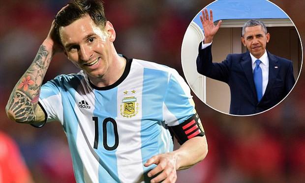 Messi nói gì sau khi lỡ cơ hội gặp Tổng thống Obama? - Ảnh 2.