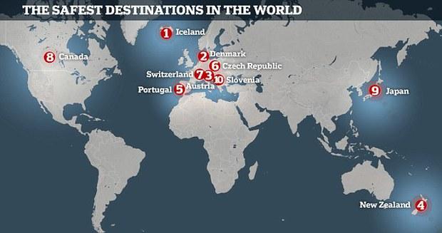 Đây là 10 quốc gia an toàn nhất thế giới - Ảnh 1.