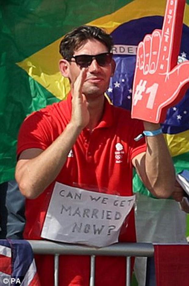 Olympic Rio 2016 trở thành kỳ Thế vận hội lãng mạn chưa từng có - Ảnh 2.