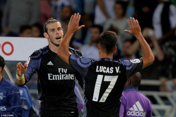 Không Ronaldo, Real Madrid vẫn dễ dàng đút túi 3 điểm trong trận mở màn mùa giải mới - Ảnh 12.