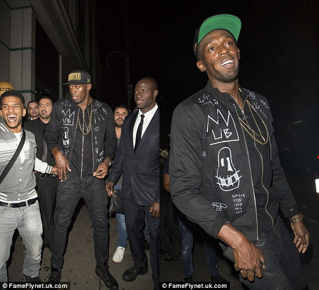 6 người đẹp hồ hởi cùng Usain Bolt về khách sạn tiệc tùng - Ảnh 1.