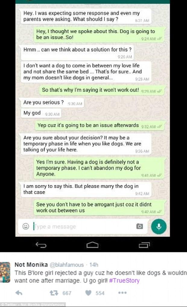 Vì chồng tương lai không thích nuôi chó, cô gái đã quyết định không cưới xin gì nữa hết! - Ảnh 2.