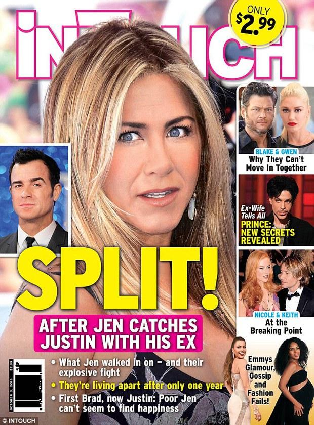 Vừa mãn nguyện vì Brangelina ly hôn, Jennifer Aniston lại bị đồn chia tay chồng - Ảnh 1.