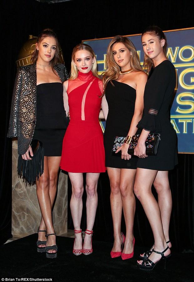 3 mỹ nữ nhà Rambo cùng dàn người đẹp Hollywood khoe váy áo lộng lẫy tại sự kiện - Ảnh 4.