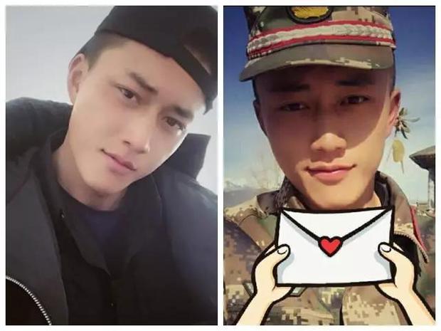 Soái ca quân nhân phiên bản Trung Quốc được khen đẹp trai hơn cả Song Joong Ki - Ảnh 2.