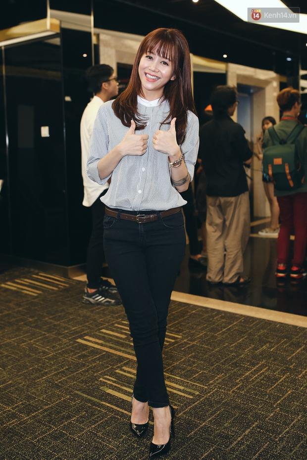 Hồ Ngọc Hà đẹp cuốn hút bên 5 học trò The Face, An Nguy ngày càng nữ tính dự sự kiện - Ảnh 5.