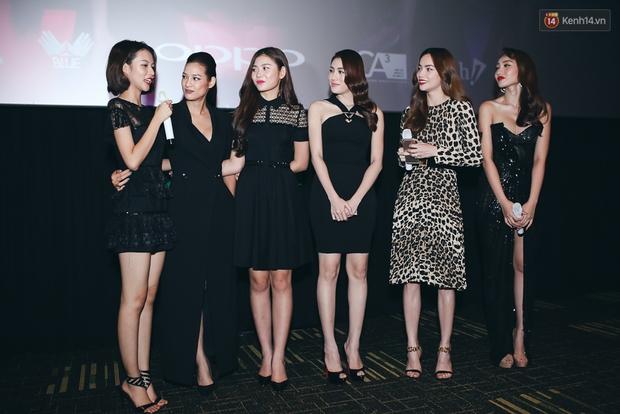 Hồ Ngọc Hà đẹp cuốn hút bên 5 học trò The Face, An Nguy ngày càng nữ tính dự sự kiện - Ảnh 6.