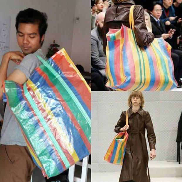 Hài hước túi xách nghìn đô của Balenciaga giống hệt túi nilon Thái Lan - Ảnh 3.