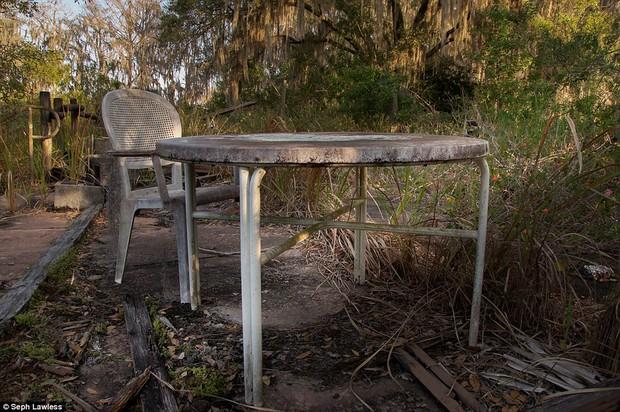 Hình ảnh ghê rợn bên trong công viên nước bỏ hoang 15 năm của Disney - Ảnh 4.