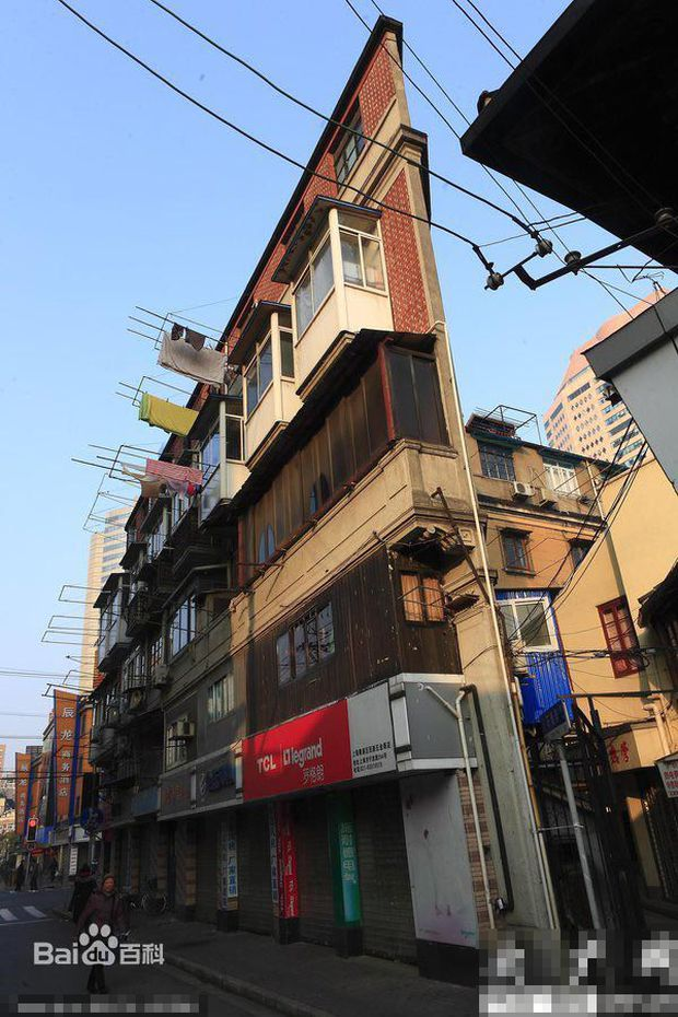 Những tòa nhà không thể mỏng hơn chỉ có ở Trung Quốc - Ảnh 7.