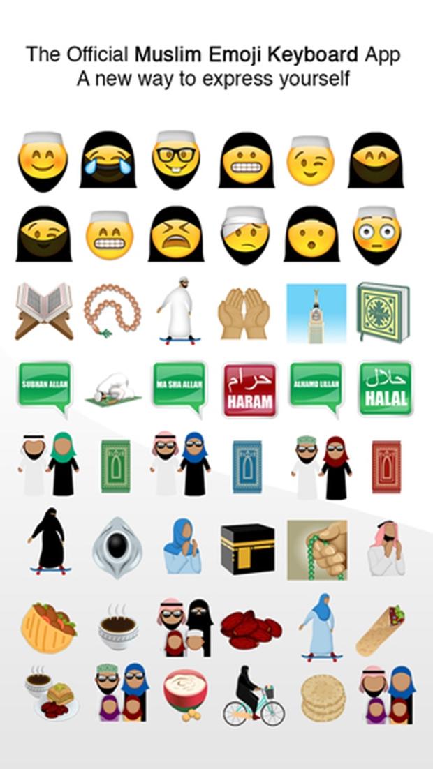 Ả Rập Saudi bắt cả Emoji cũng phải đeo mạng che mặt Hồi giáo, và đây là kết quả - Ảnh 2.