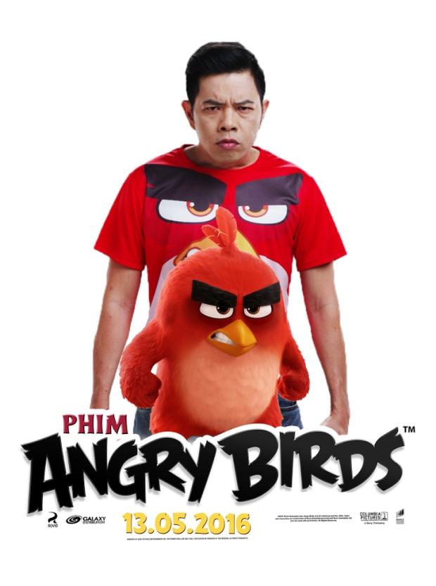 Thái Hòa trở thành Red cáu giận trong The Angry Birds Movie - Ảnh 5.