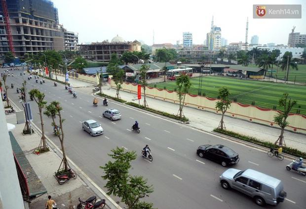 Thông xe tuyến đường kiểu mẫu đầu tiên ở Hà Nội - Ảnh 4.
