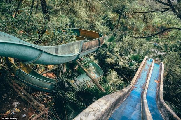 Thêm những hình ảnh rùng rợn của công viên nước bỏ hoang tại Việt Nam lên báo nước ngoài - Ảnh 6.