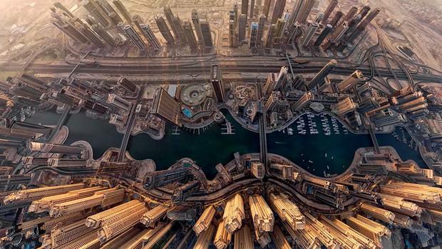 Các thành phố nổi tiếng trông như thế nào khi nhìn từ trên cao? - Ảnh 4.