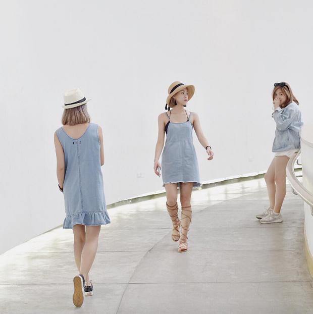 Xu hướng mới của bạn trẻ Việt Nam: Đi du lịch nhóm, mặc đồ cùng tông rồi diễn như tạp chí! - Ảnh 10.