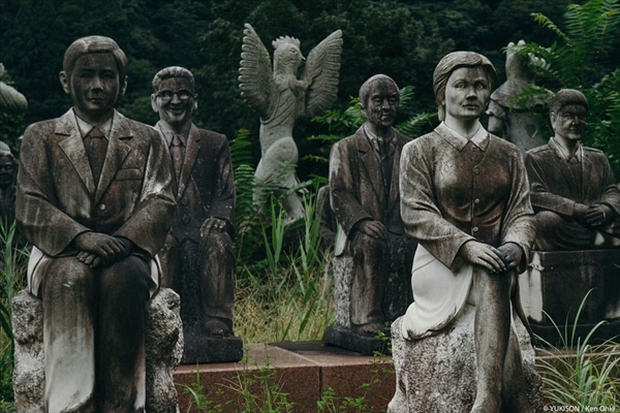 Nỗi ám ảnh từ những bức tượng biết đi tại công viên ma Nhật Bản - Ảnh 3.