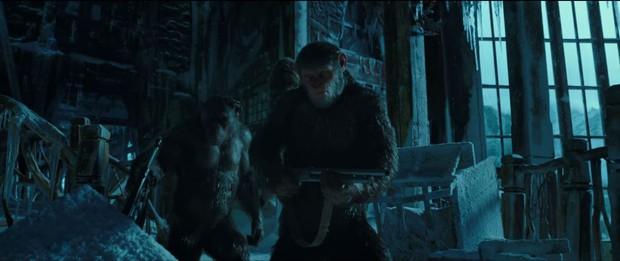 Trailer của War for the Planet of the Apes hé lộ cuộc chiến một mất một còn giữa người và vượn - Ảnh 4.