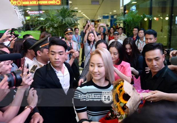 Wonder Girls bay từ Hàn Quốc sang Hà Nội rồi mới vào TP.HCM - Ảnh 6.