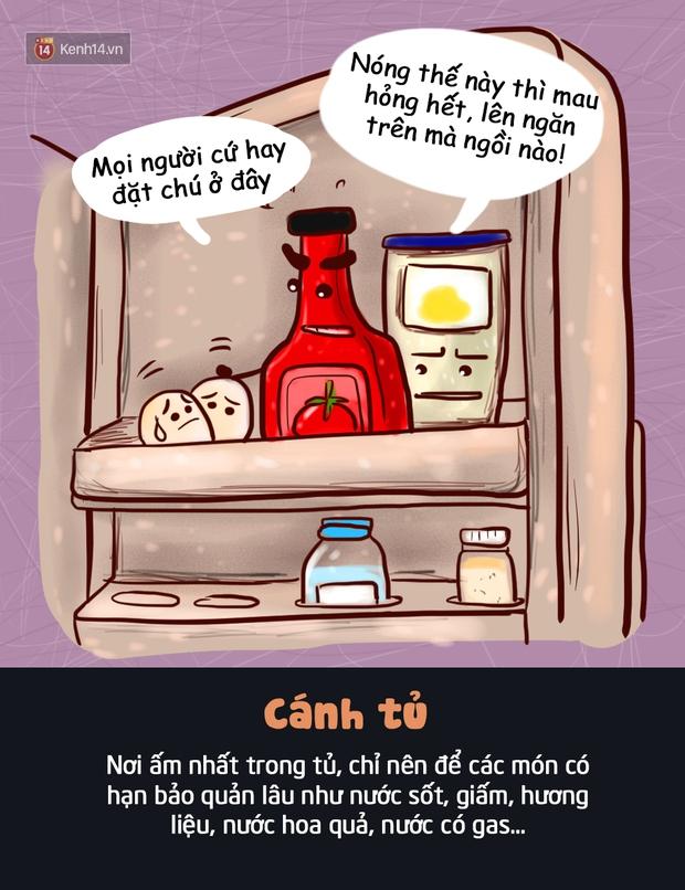 Đây là vị trí bạn nên đặt thực phẩm trong tủ lạnh để giúp chúng tươi ngon lâu nhất - Ảnh 5.