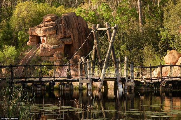 Hình ảnh ghê rợn bên trong công viên nước bỏ hoang 15 năm của Disney - Ảnh 5.