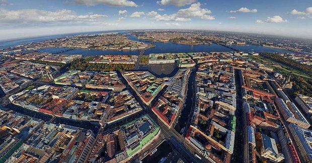 Các thành phố nổi tiếng trông như thế nào khi nhìn từ trên cao? - Ảnh 5.