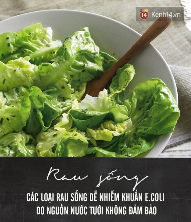 Chú ý 5 loại thực phẩm dễ bị nhiễm khuẩn E.coli hại ruột - Ảnh 5.