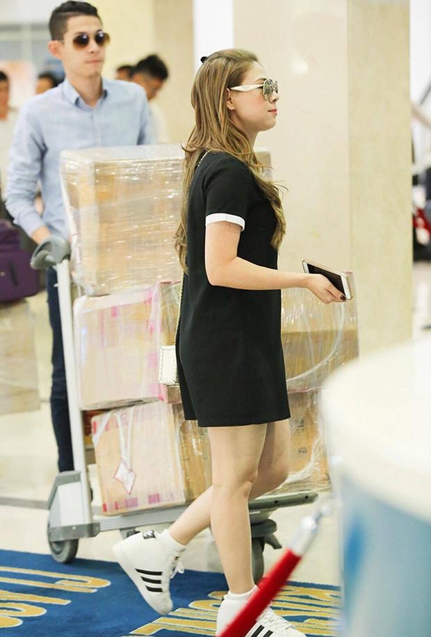 Thanh Thảo mang 200kg hành lý ra Hà Nội để phục vụ cho liveshow - Ảnh 5.