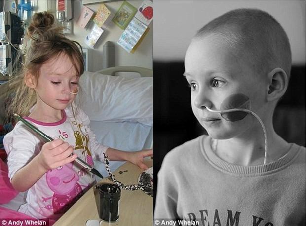 Bức ảnh bé gái 4 tuổi gồng mình chiến đấu với căn bệnh ung thư khiến ai cũng nhói lòng - Ảnh 6.