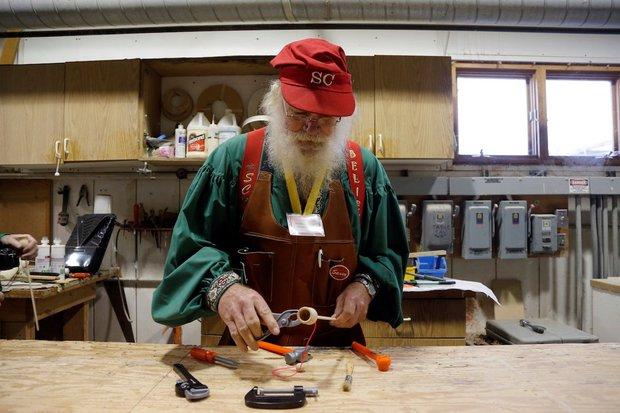 Bên trong trường đào tạo ông già Noel trước mùa Giáng sinh - Ảnh 9.