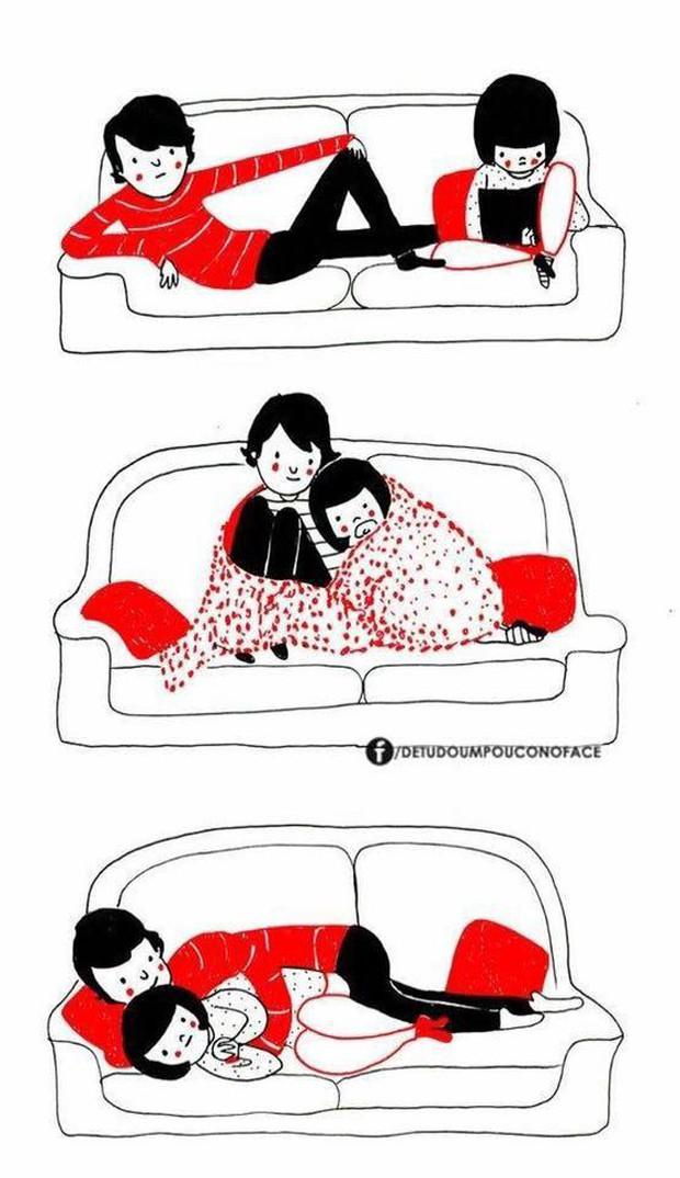 Hạnh phúc nhất khi yêu nhau là được về ở với nhau và làm những điều này - Ảnh 9.