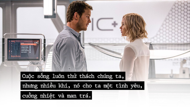 Có một loại tình yêu trong Passengers, khi người ta tìm thấy nhau giữa nơi tuyệt vọng - Ảnh 2.