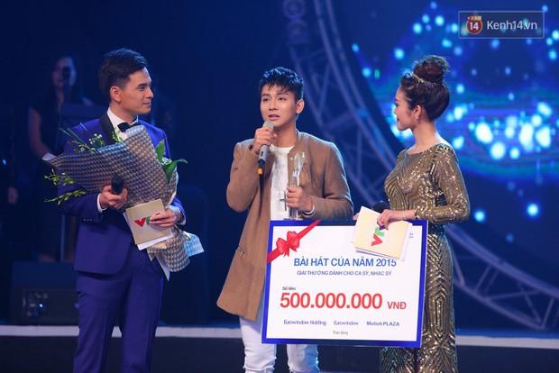 Hoài Lâm giành giải thưởng 500 triệu đồng của Bài hát yêu thích 2015 - Ảnh 1.