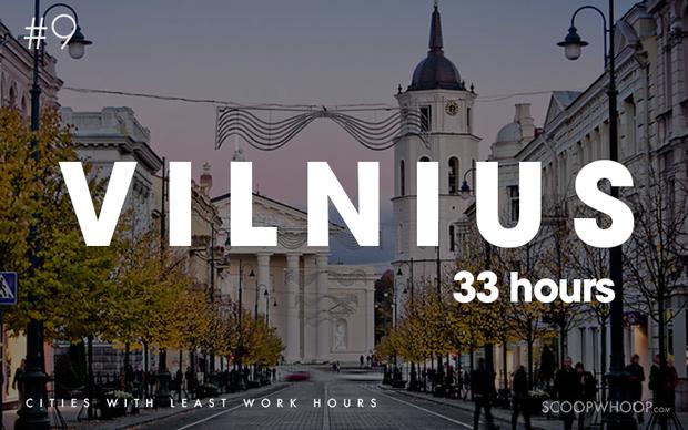 10 thành phố có số giờ làm việc ít nhất thế giới - Ảnh 2.