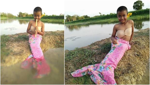 Cậu bé bỗng nổi tiếng khắp Thái Lan vì phong cách thời trang tự chế chẳng giống ai - Ảnh 4.
