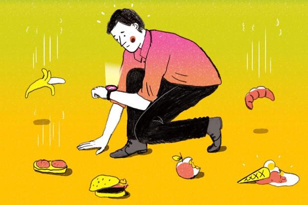 Quên quy tắc 5s đi - vi khuẩn có thể tấn công thực phẩm rơi xuống sàn chưa đầy 1s - Ảnh 2.