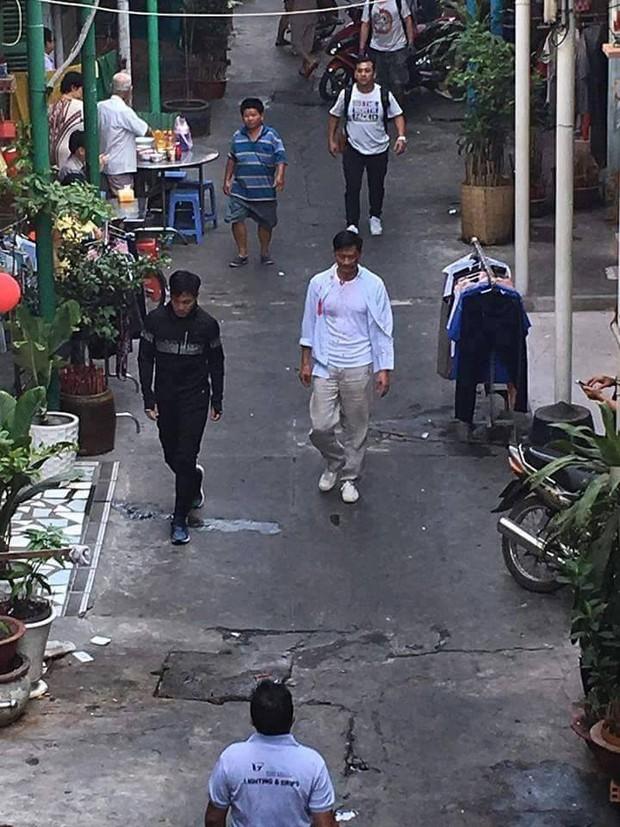 Sao TVB Quách Tấn An, Huỳnh Đức Bân, Chu Thần Lệ được fan bắt gặp quay phim tại Chợ Lớn - Ảnh 6.