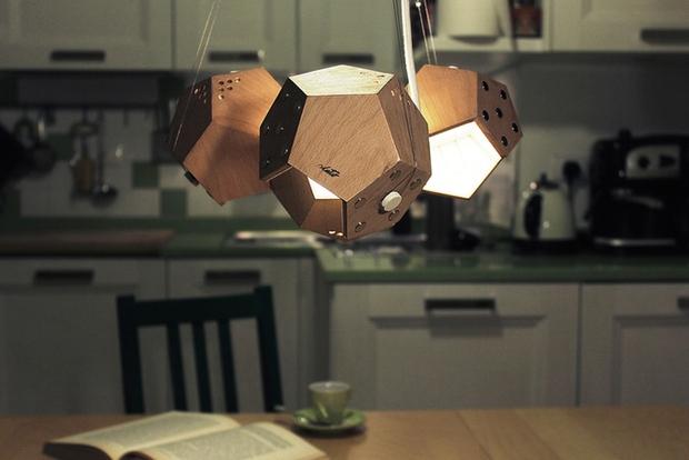 Chùm đèn tổ ong kết nối bằng nam châm không cần dây điện - Ảnh 8.