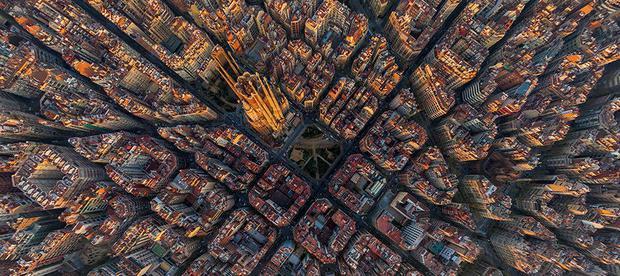 Các thành phố nổi tiếng trông như thế nào khi nhìn từ trên cao? - Ảnh 6.