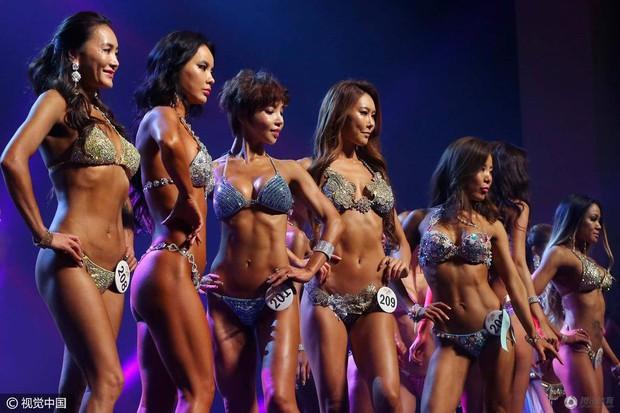 Những hình ảnh trong cuộc thi Mỹ nhân cơ bắp ở Hàn Quốc - Ảnh 6.