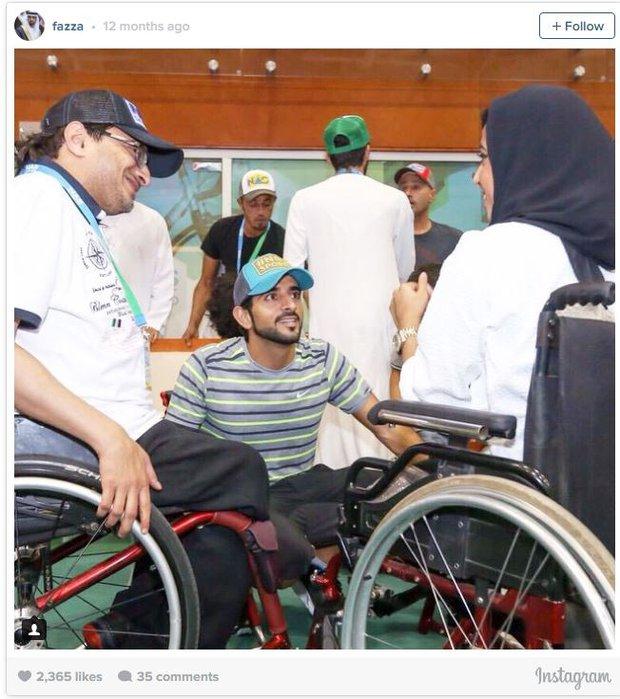 Không chỉ đẹp trai, giàu có, chàng hoàng tử Dubai này còn khiến bao người ngưỡng mộ vì những hành động cao đẹp - Ảnh 5.