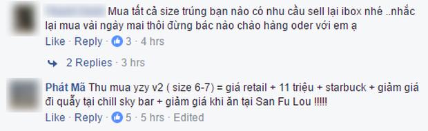 Chưa tới giờ lên kệ, giày Yeezy 350 V2 đã được nhiều bạn trẻ Việt sẵn sàng mua lại với giá 17 triệu VNĐ/đôi - Ảnh 4.