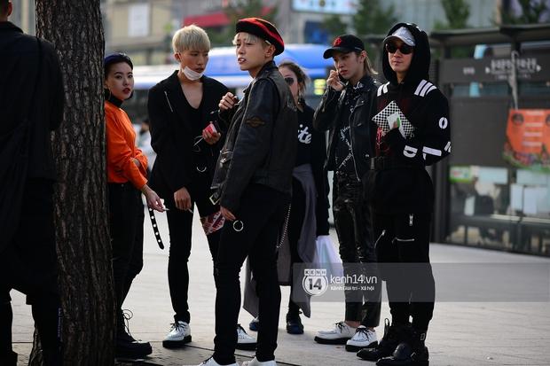 Hoàng Ku, Châu Bùi, Min xuất hiện cực nét cùng fashionista Hàn tại Tuần lễ thời trang ngày 3 - Ảnh 6.