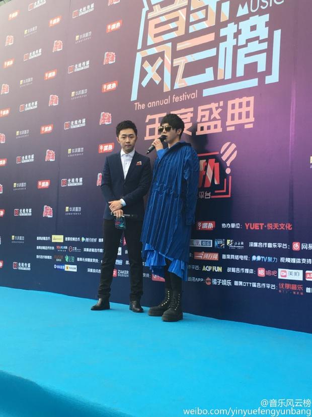 Dàn sao hot nhất Hoa - Hàn hội ngộ tại thảm xanh Chinese Top Music Awards - Ảnh 13.