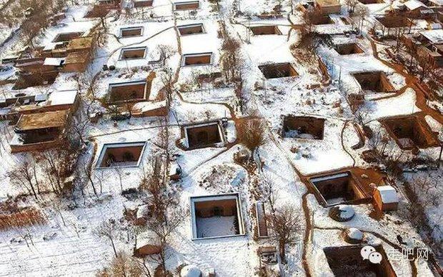 Ngôi làng kỳ lạ nhất Trung Quốc: Toàn bộ người dân đều sống dưới lòng đất - Ảnh 2.
