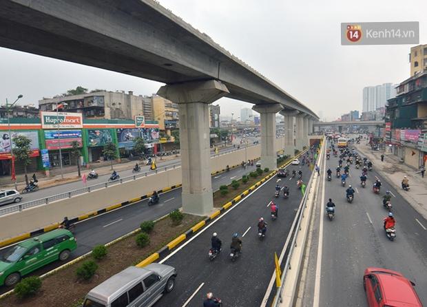 Chính thức thông xe hai hầm chui lớn nhất Hà Nội - Ảnh 7.