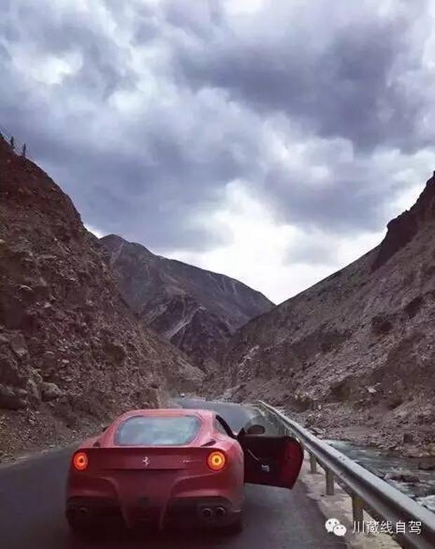 Cái kết cho đại gia lái Ferrari dẫn đoàn siêu xe đi khám phá cung đường nguy hiểm nhất Trung Quốc - Ảnh 5.