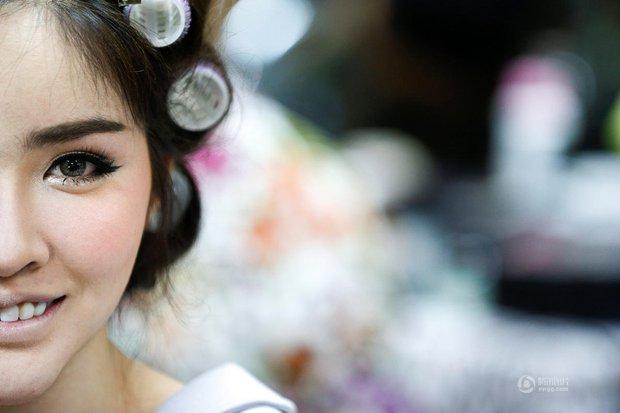 Chùm ảnh: Hậu trường cuộc thi Hoa hậu chuyển giới được quan tâm nhất Thái Lan - Ảnh 8.