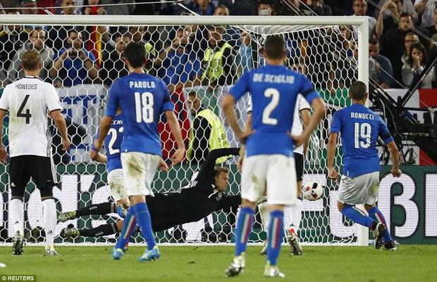 Đức vỡ òa, Italia sụp đổ sau trận tứ kết nghẹt thở trên chấm luân lưu - Ảnh 7.