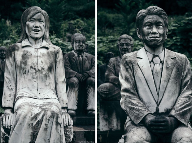 Nỗi ám ảnh từ những bức tượng biết đi tại công viên ma Nhật Bản - Ảnh 6.